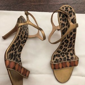 Shoes - Dolce Gabanna Strap sandal shoe. Multi color
